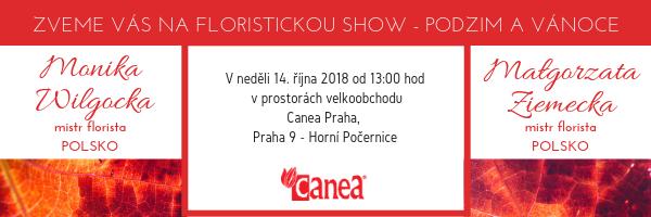 Podzimní a Vánoční show v neděli 14.10.2018
