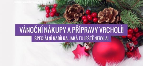 Vánoční nákupy a přípravy vrcholí! Nové kolekce Vánoce 2015!