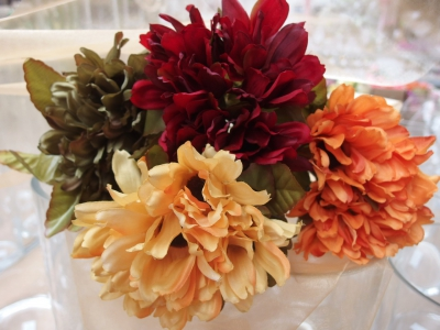Nová kolekce podzimních květin