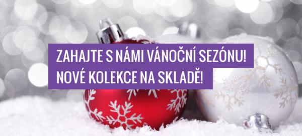Zahajte s námi vánoční sezónu! Nové kolekce Vánoce 2015 již na skladě!