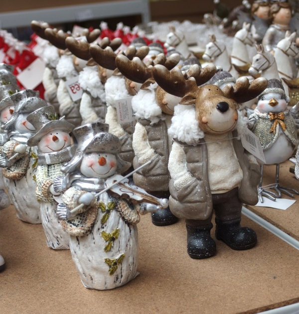 Drobné vánoční figurky