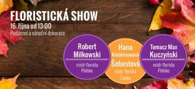 Pozvánka na floristickou show dne 16. 10. 2016 od 13.00!