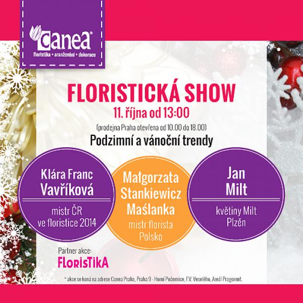 Pozvánka na floristickou show!  V neděli 11. října od 13hod. Mezinárodní účast!