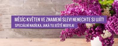 Měsíc květen ve znamení slev! Nenechte si ujít!