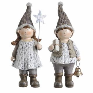 Vánoní figurky jsou na prodejně